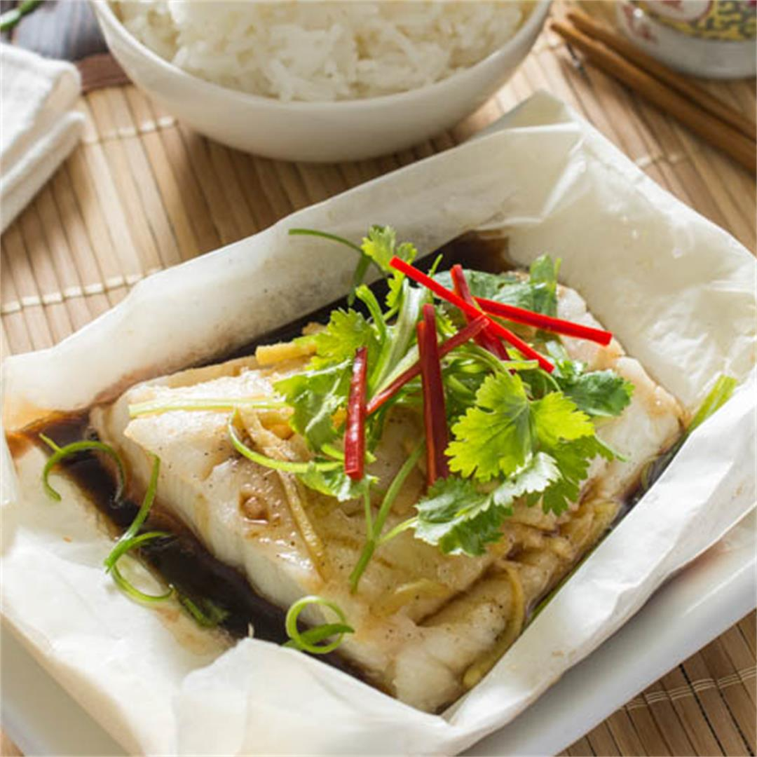 Chinese Style Oven Baked Fish