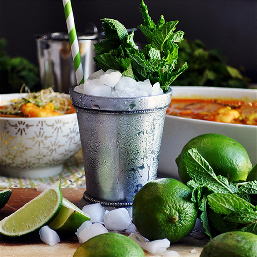 Perfect Gin Julep Cocktail