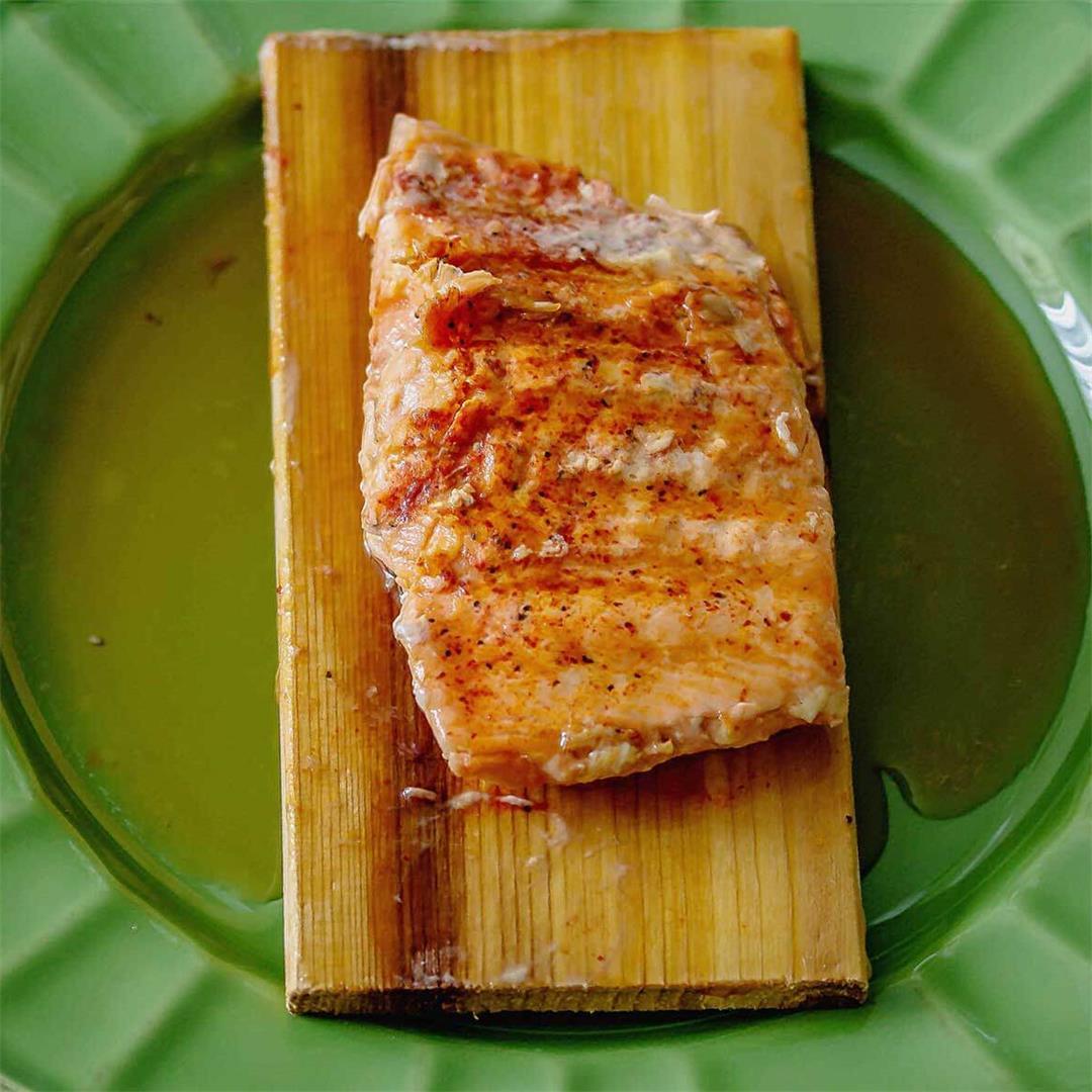Spiced Maple Salmon