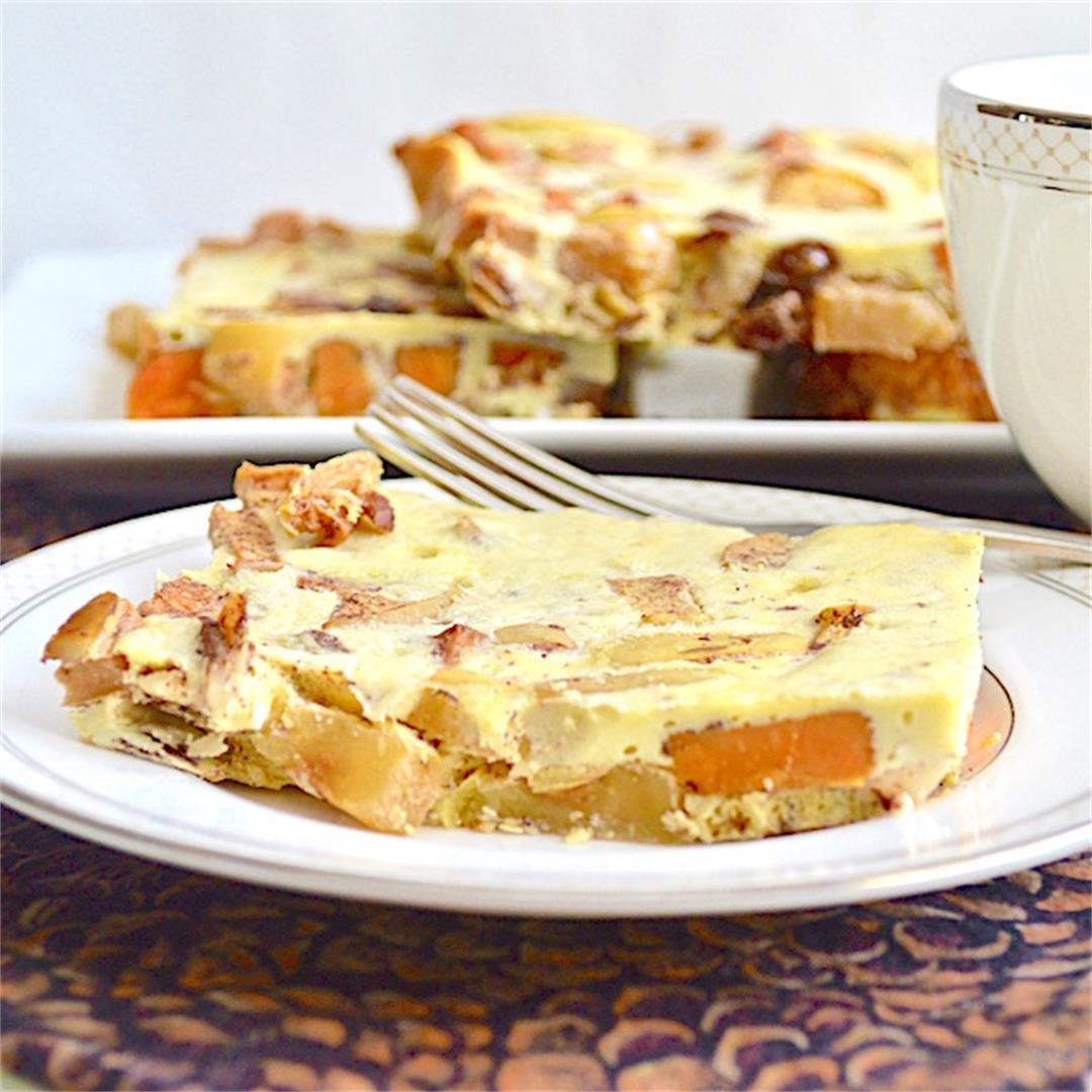 Apple Sweet Potato Breakfast Bake