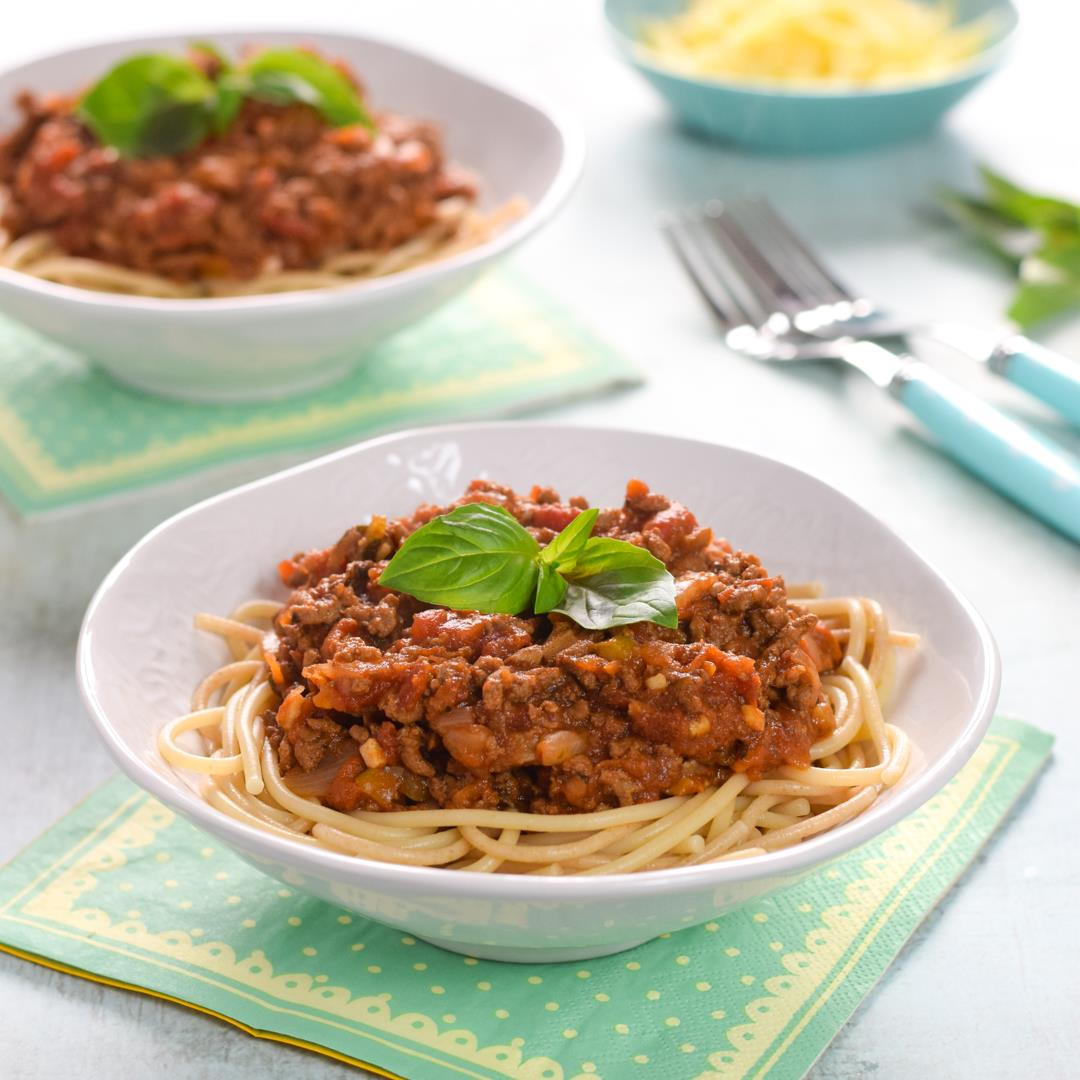 Slow Cooker Hidden Veggies Bolognese