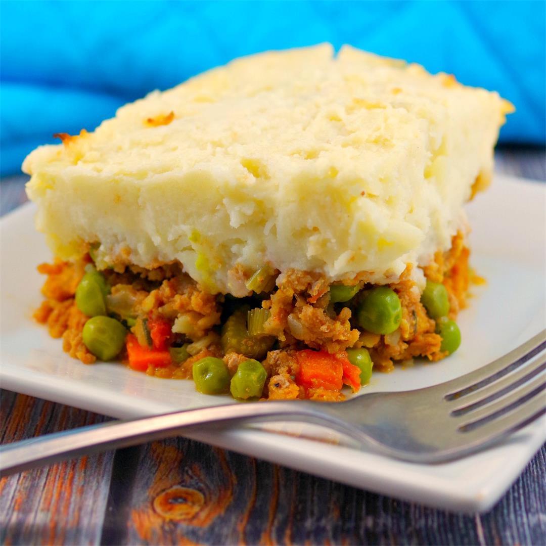 Healthy Turkey Shepherd's Pie - Weight Watchers Friendly