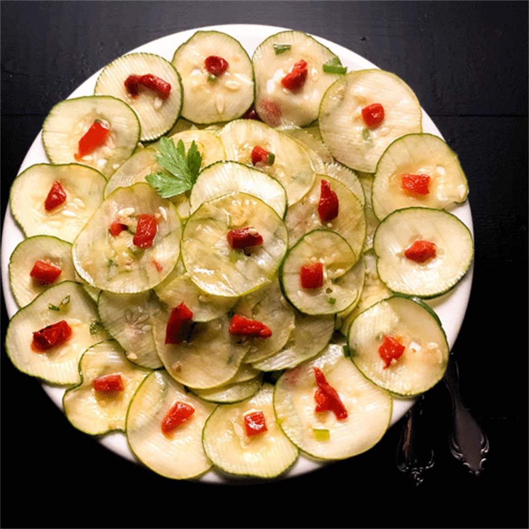 Cajun Marinated Cucumber Salad