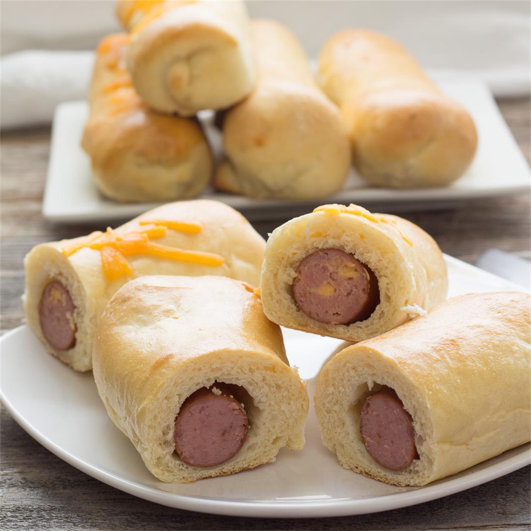 Sausage Rolls make a great grab 'n go breakfast