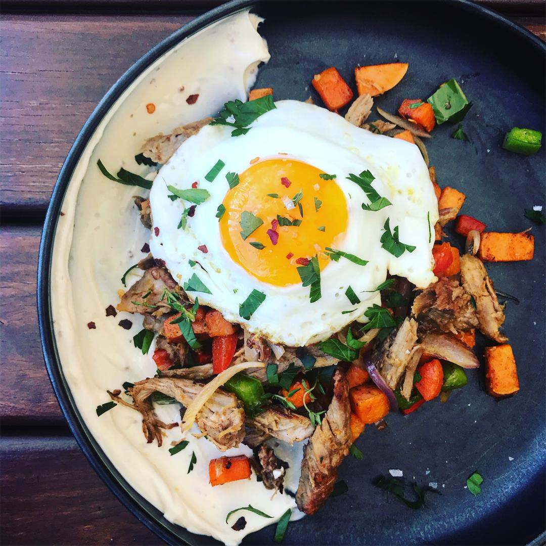 The PERFECT Pulled Pork Hash