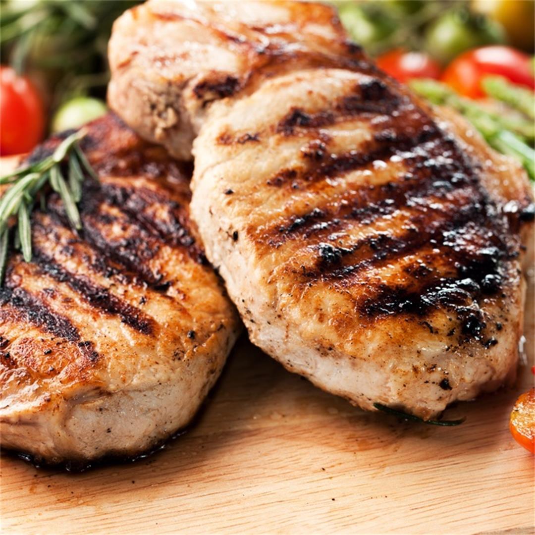 Airfryer Mediterranean Pork Chops