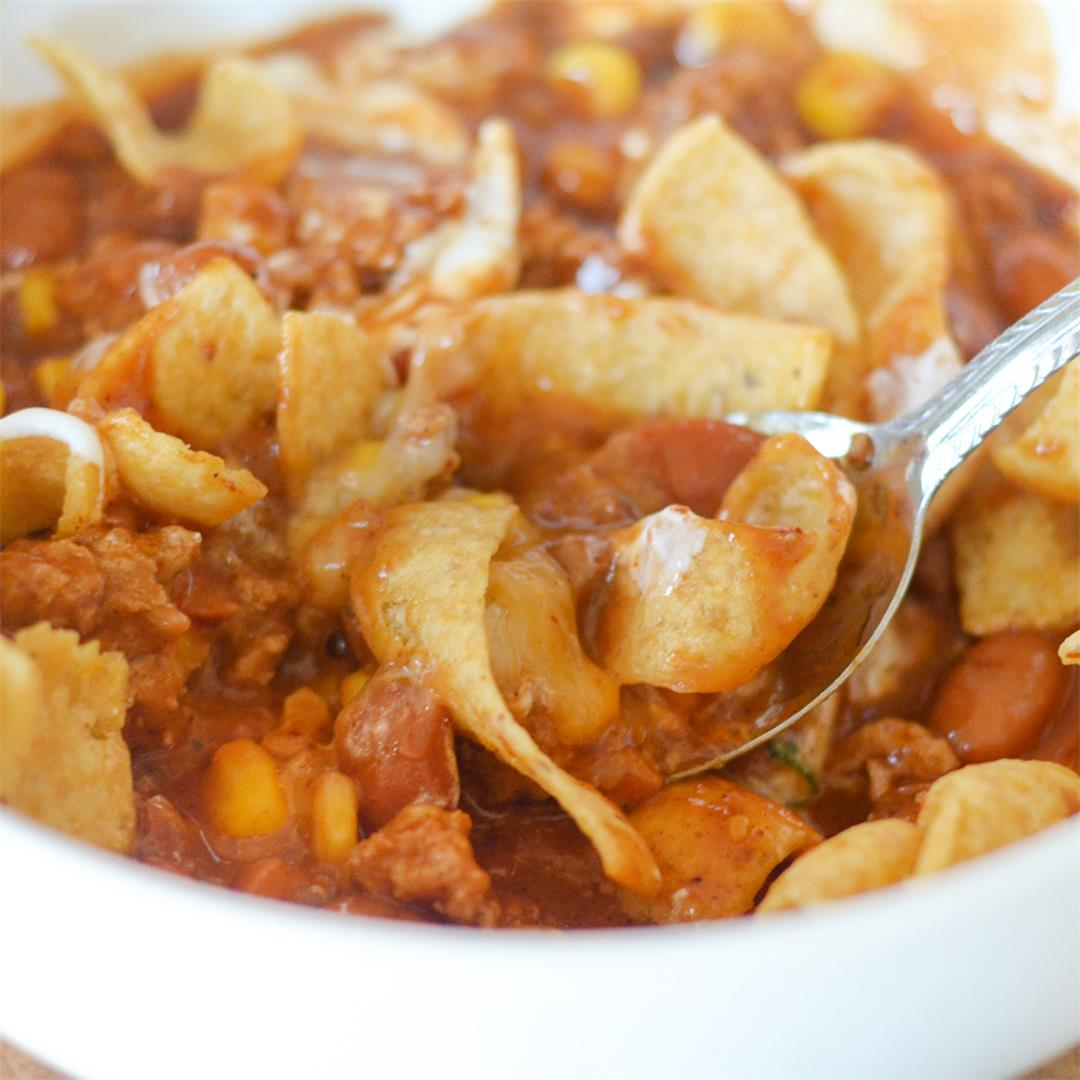 Gluten Free Turkey Chili with Corn