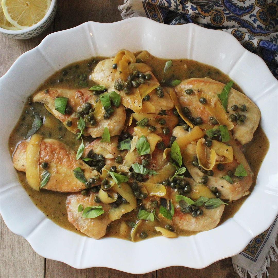 Chicken Piccata aka Lemon Chicken