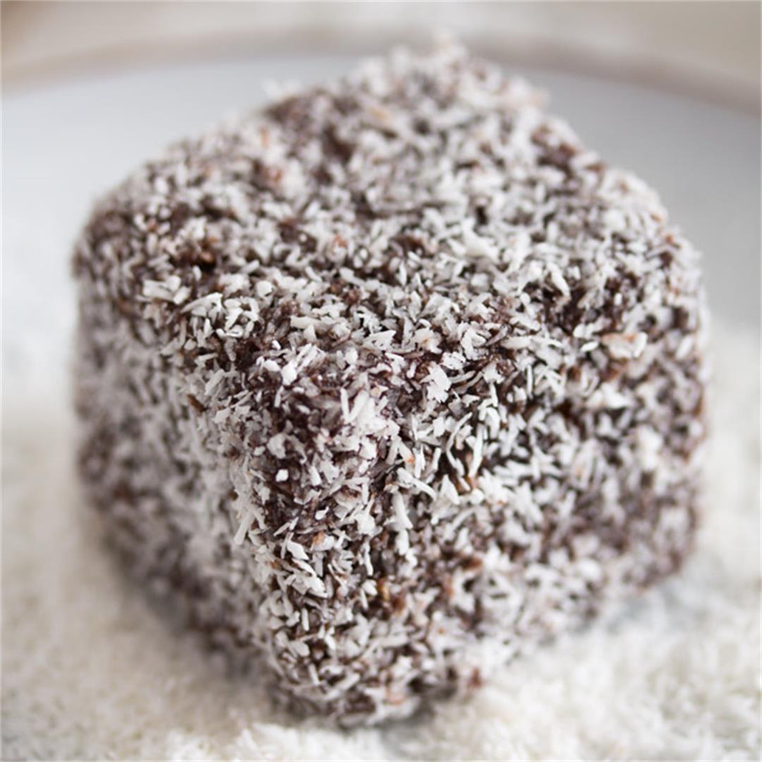 Lamingtons – Chocolate and Coconut Cake – Australian Food
