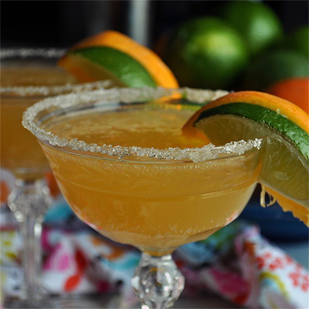 Freshly Squeezed Orange Margaritas