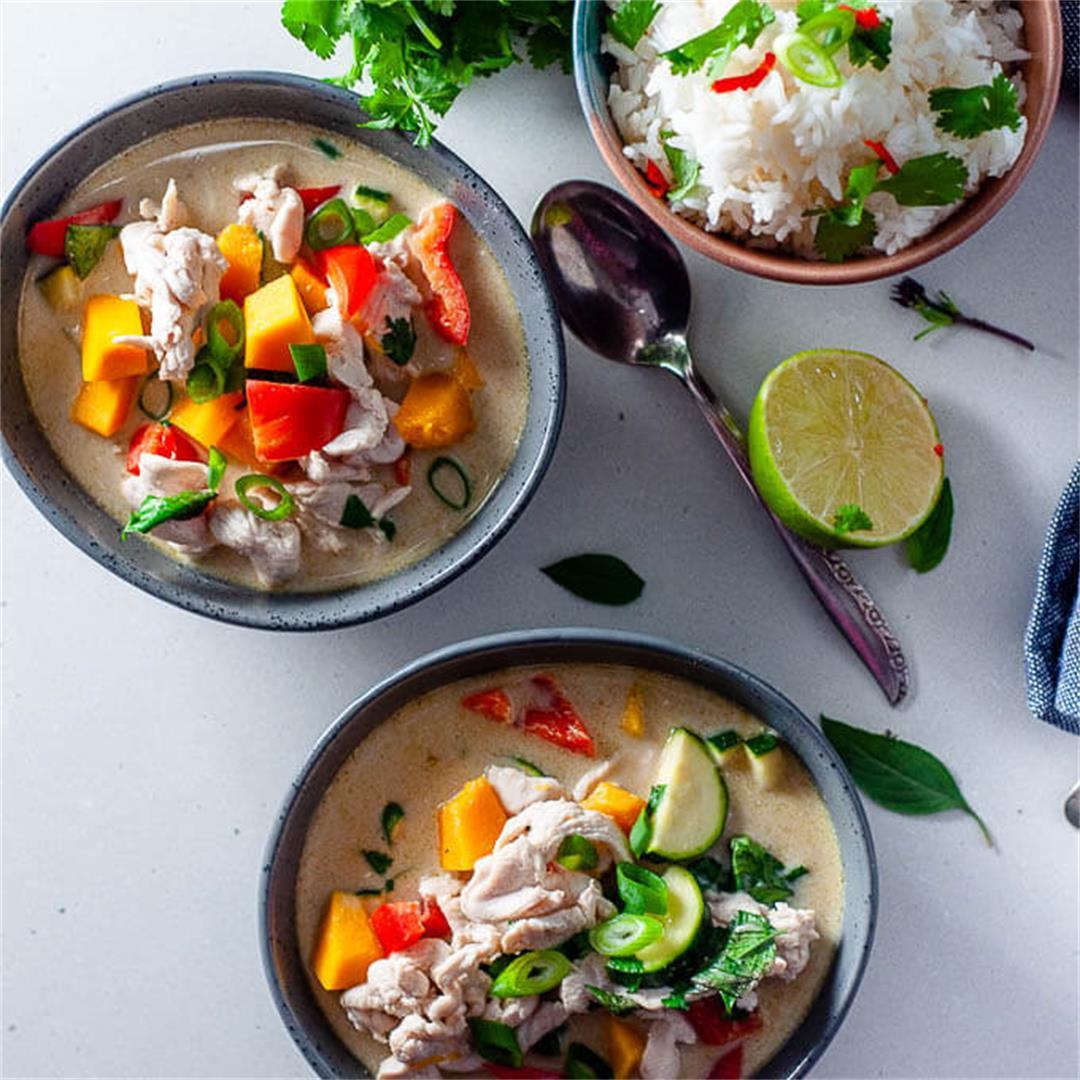 Clean Eating Green Thai Curry