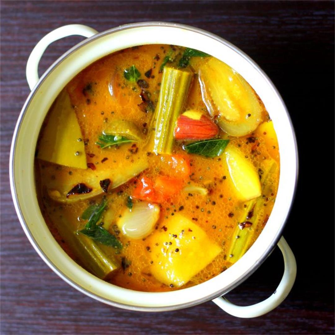 South Indian Sambar Recipe