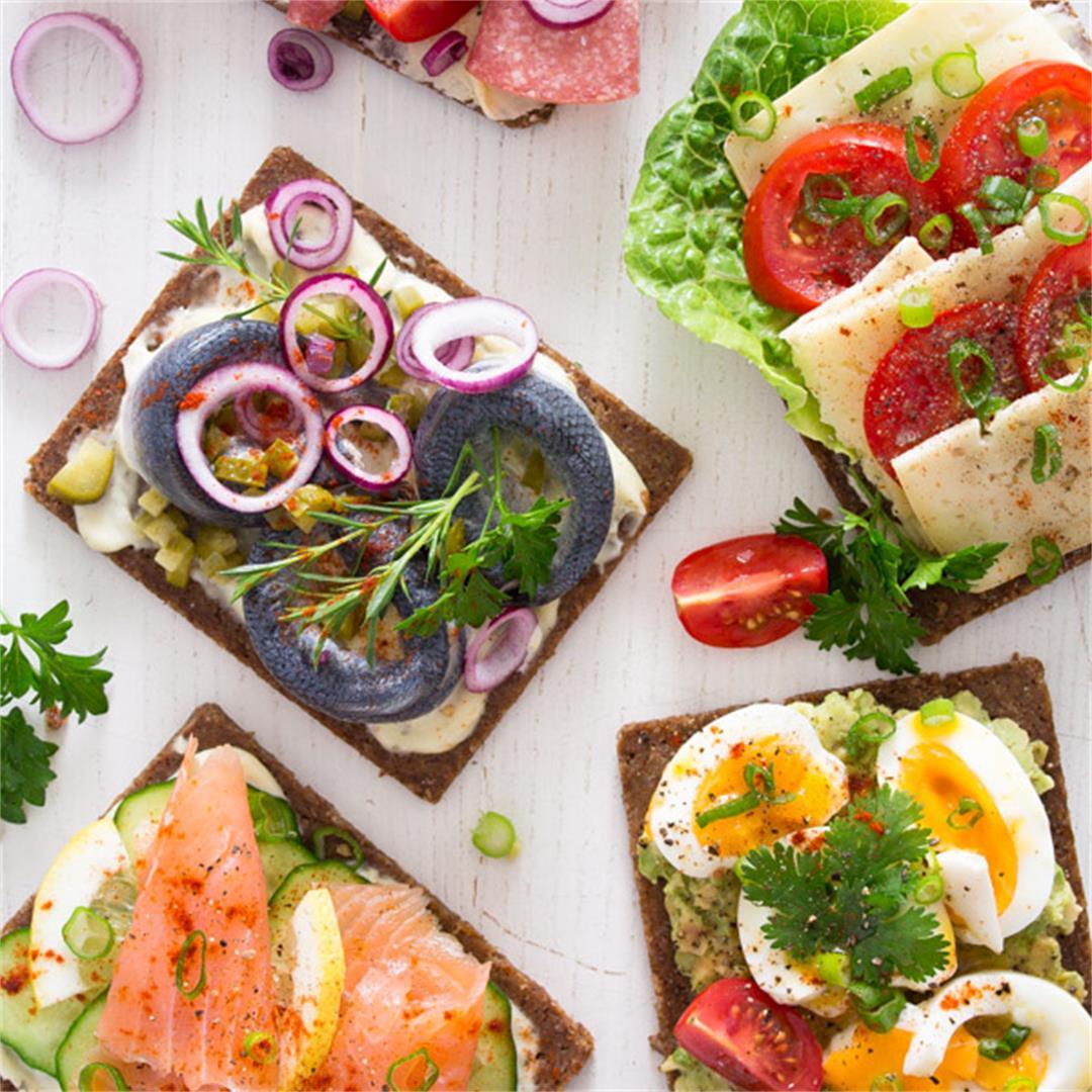 Open Faced Sandwiches – Smørrebrød – Danish Food