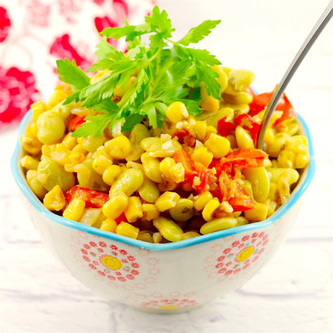 Corn Succotash (gluten-free)