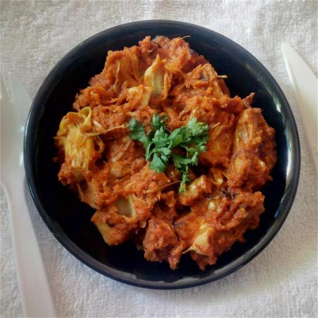 Jackfruit Curry In Indian Style