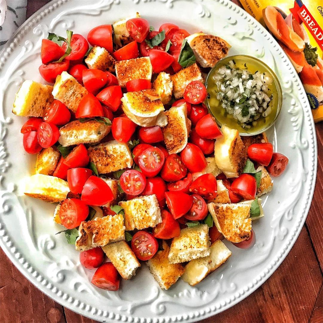 Panzanella Salad with Bread Dumplings