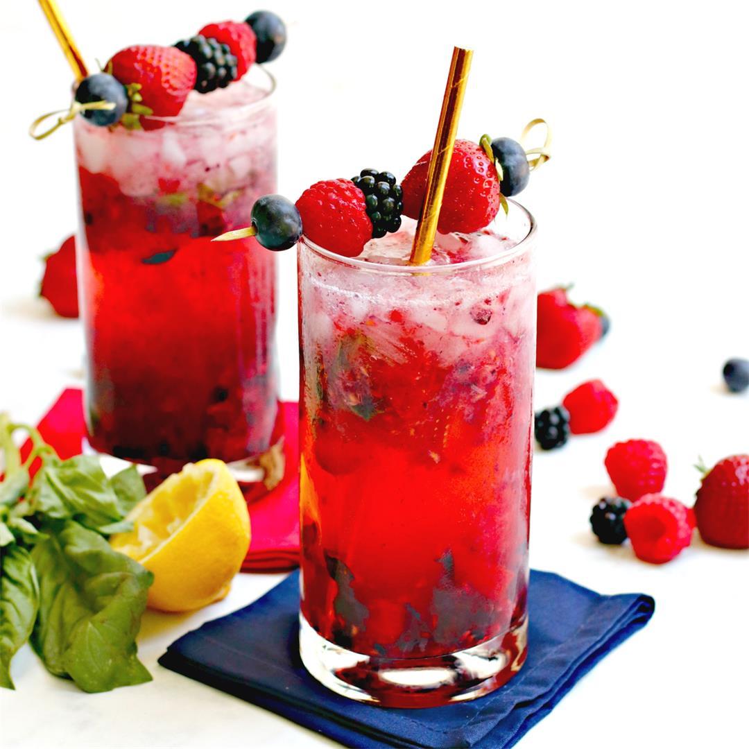 Easy Berry Vodka Cocktails