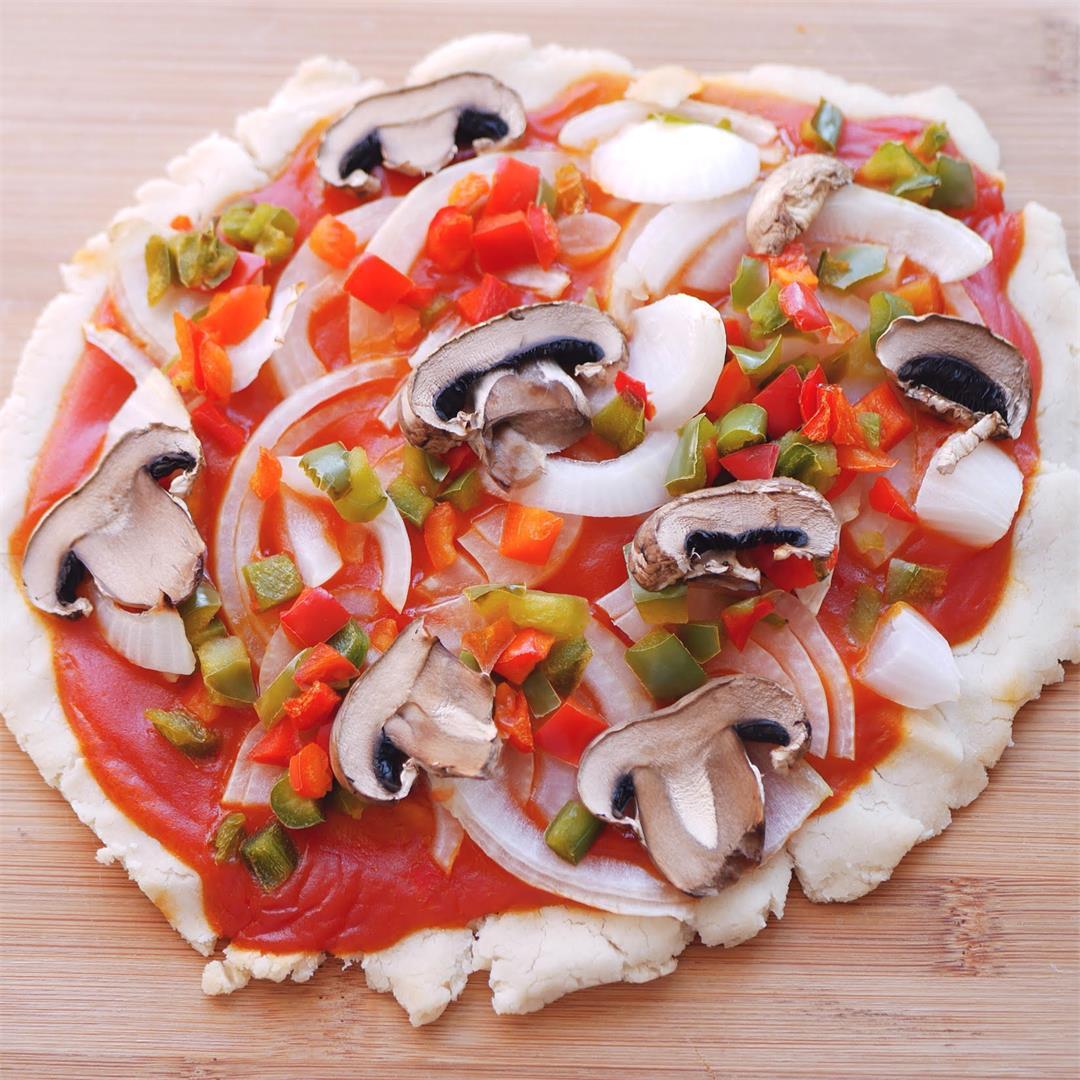 Gluten Free & Dairy Free Veggie Pizza