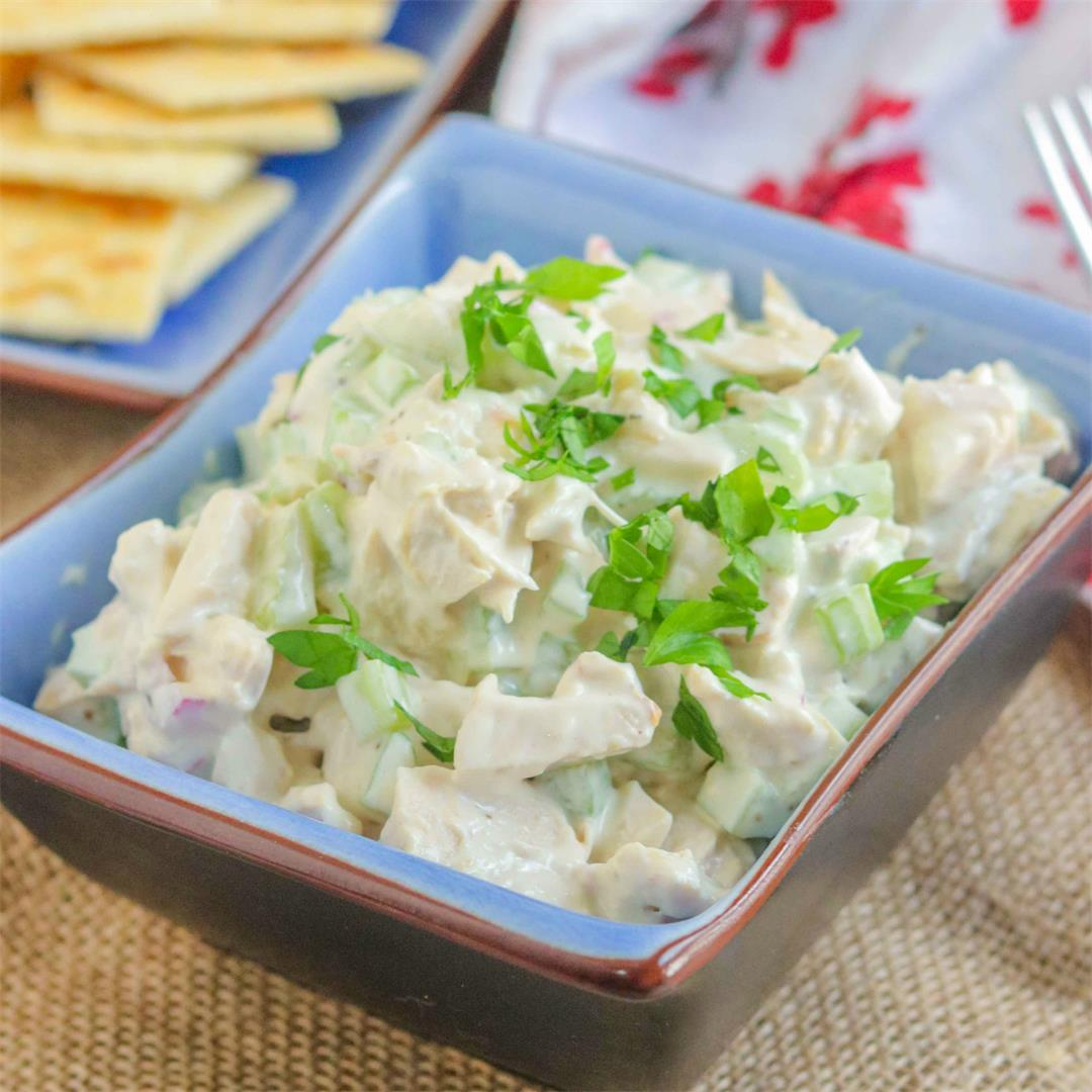 Classic Easy Chicken Salad Recipe