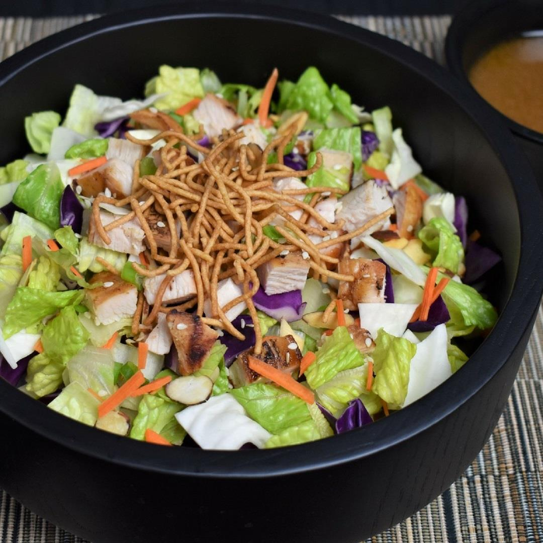 Asian Chopped Salad with Sesame Dressing