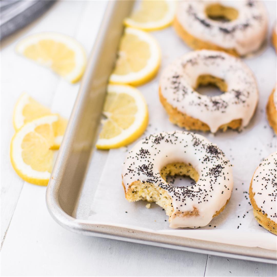 Lemon Poppy Seed Donuts