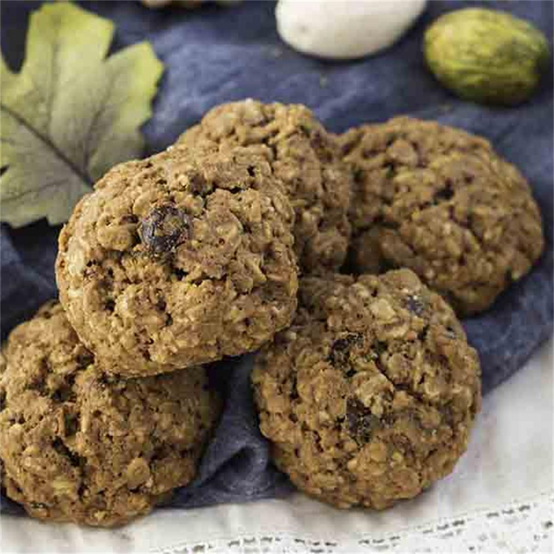 Gluten-Free Artisan Spiced Pecan Currant Cookies
