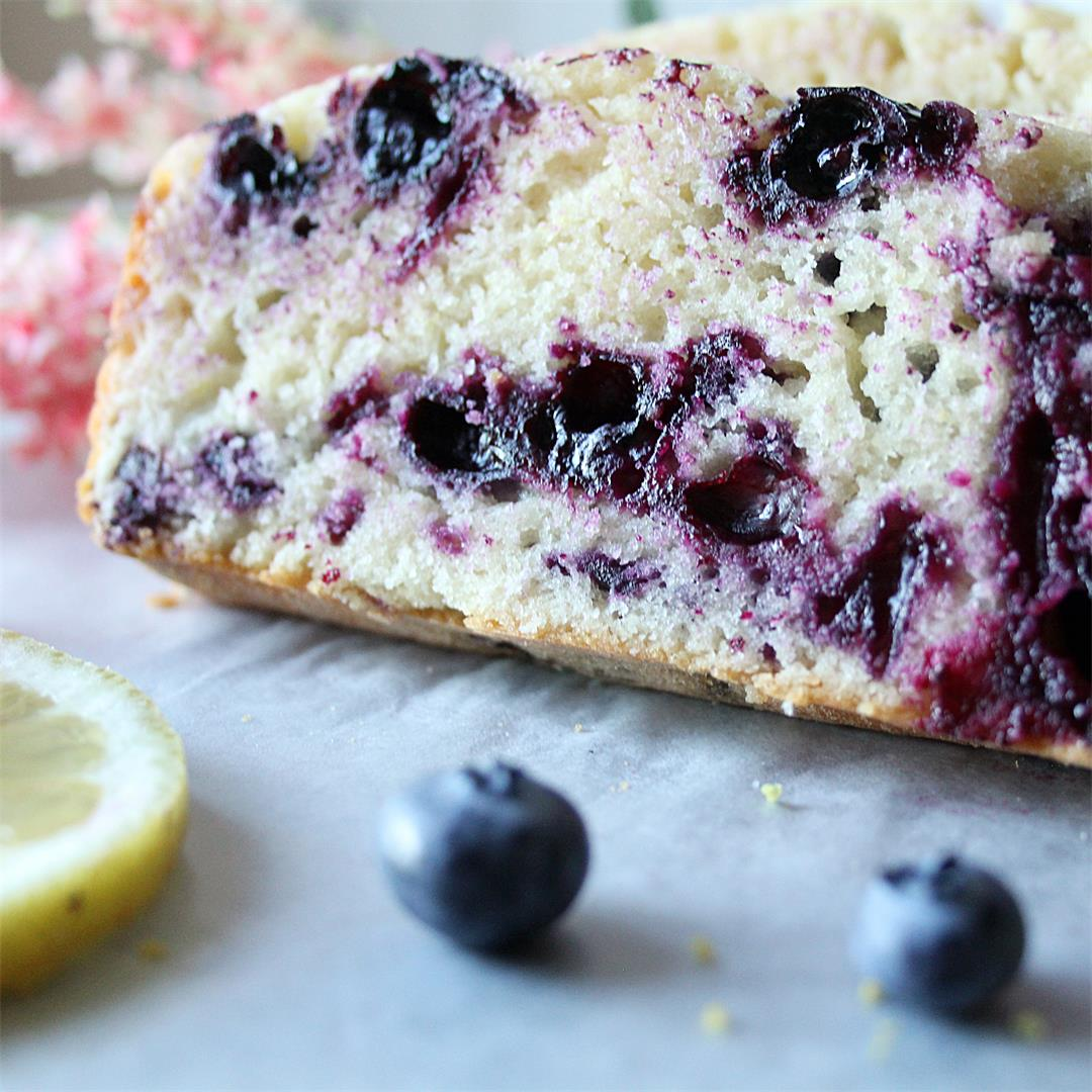 Lemon Blueberry Buttermilk Loaf