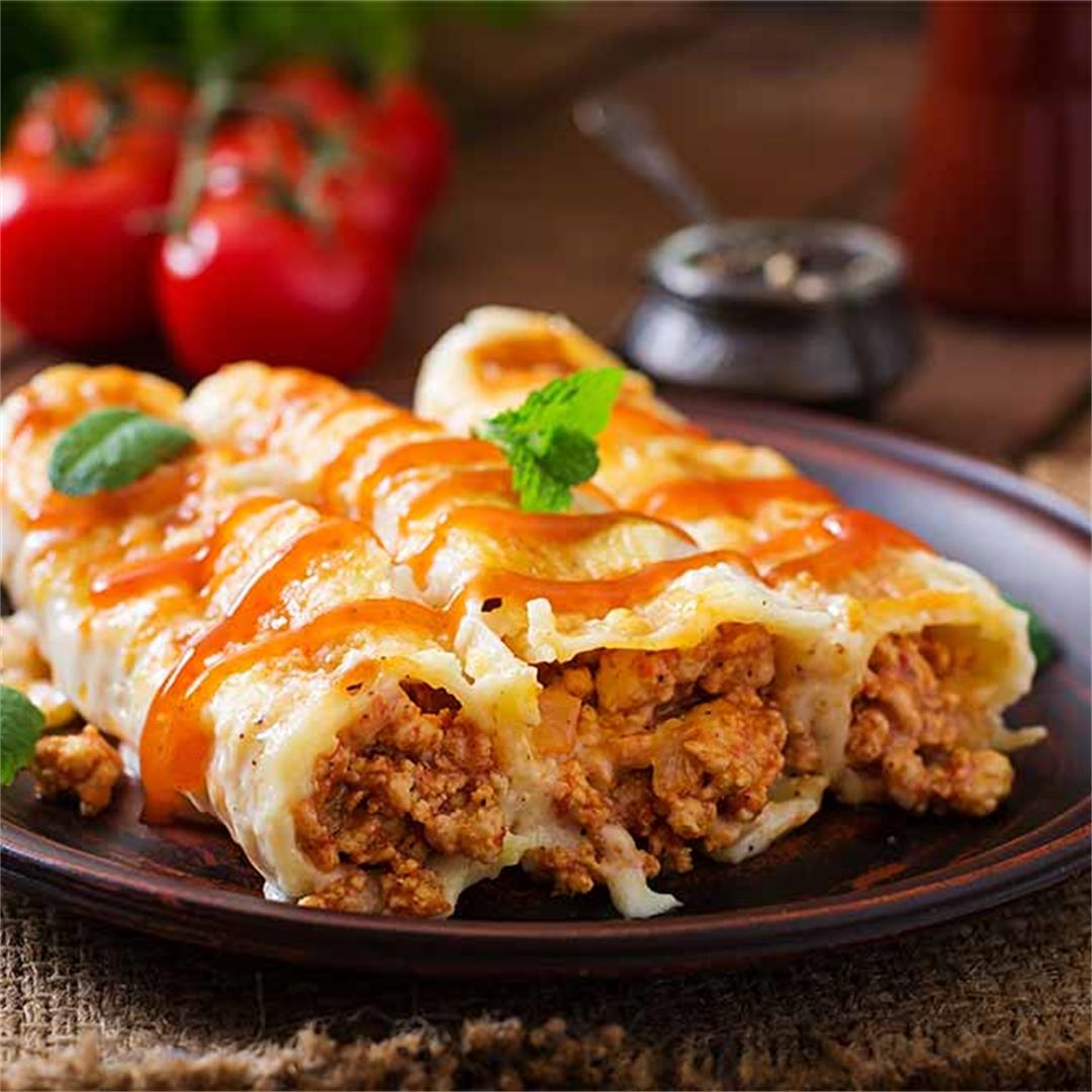 Slimming World Beef Cannelloni Fakeaway