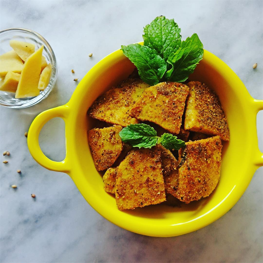 Yam Fry (Karunai Kilangu) recipe