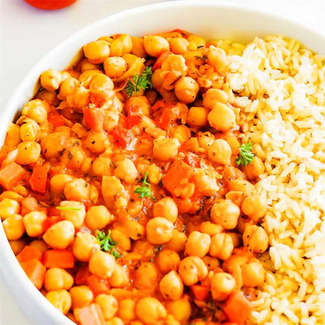 Chickpea Stew (Gluten-Free, Vegan)