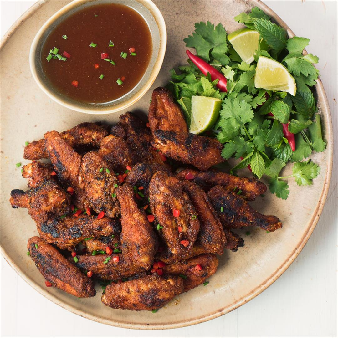 indian grilled chicken wings