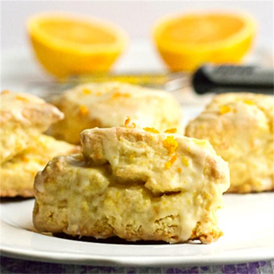 Orange Cream Scones