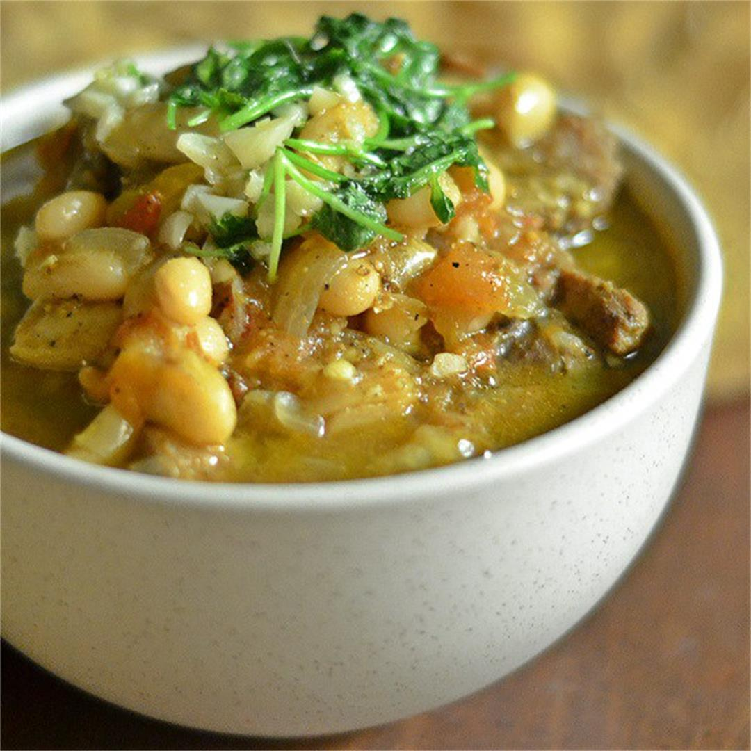 Emirati White Bean and Lamb Stew