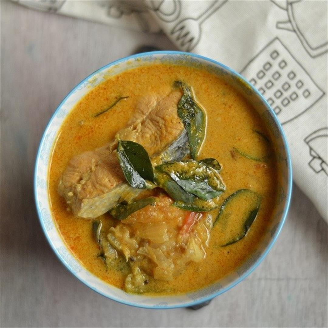Malabar Fish Curry with Coconut Milk
