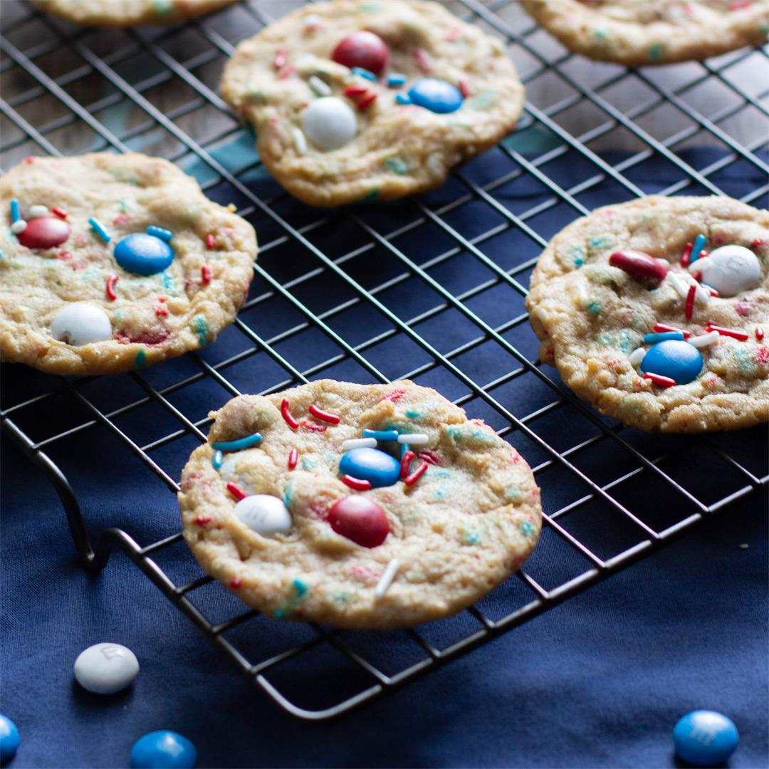 Firecracker Pudding Cookies