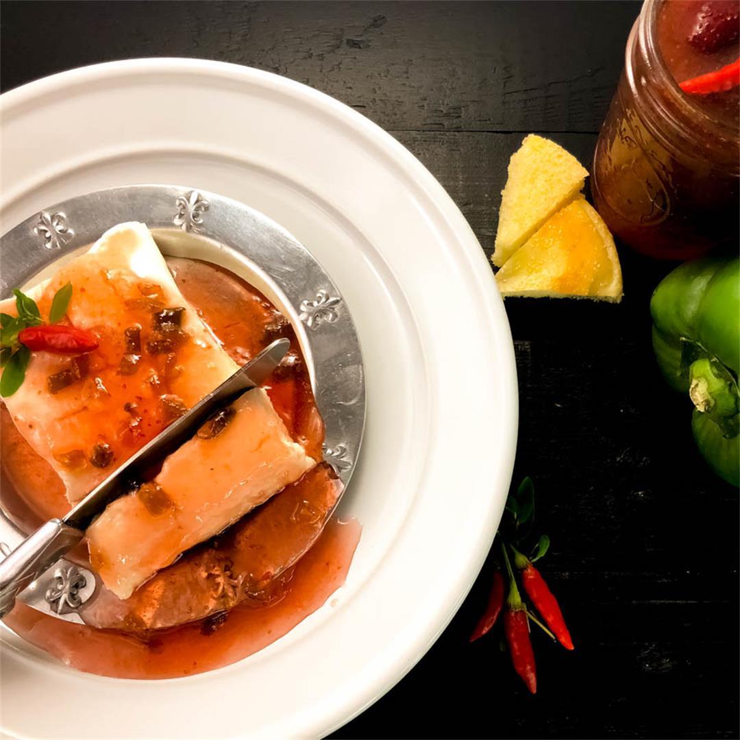 Strawberry Tabasco Pepper Jelly Recipe