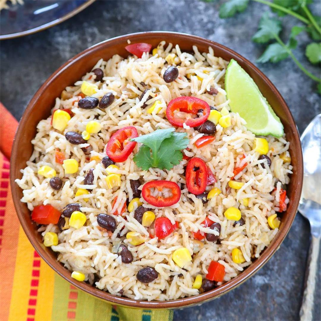 Instant Pot Fiesta Rice