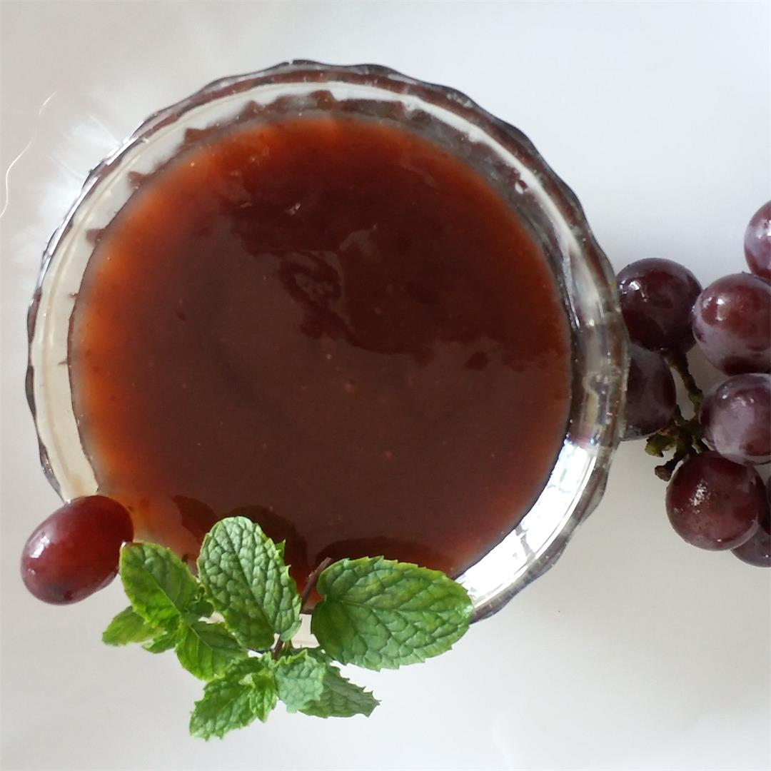 Grape Sauce Recipe | How to make Grape Sauce