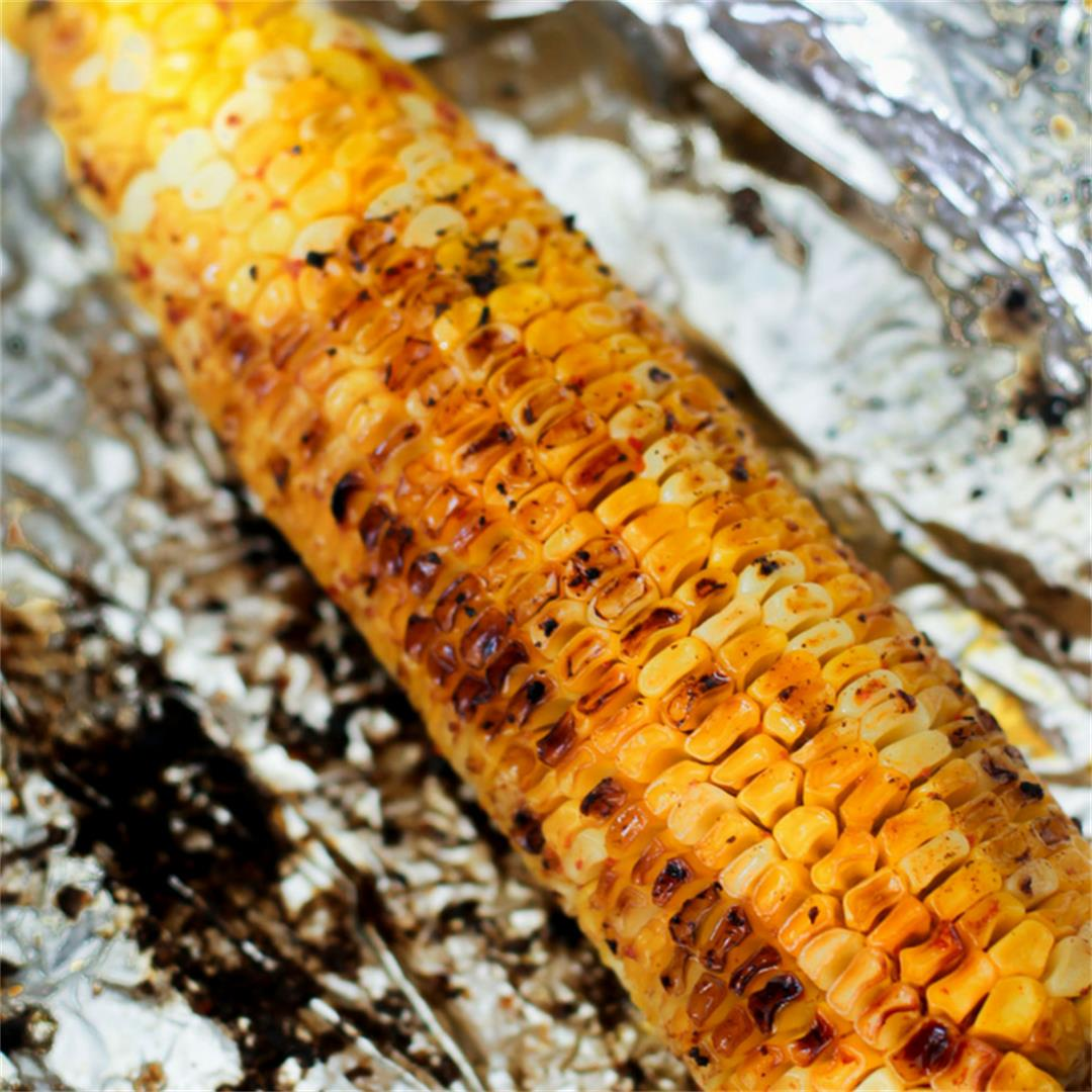 Chile Lime Corn on the Cob