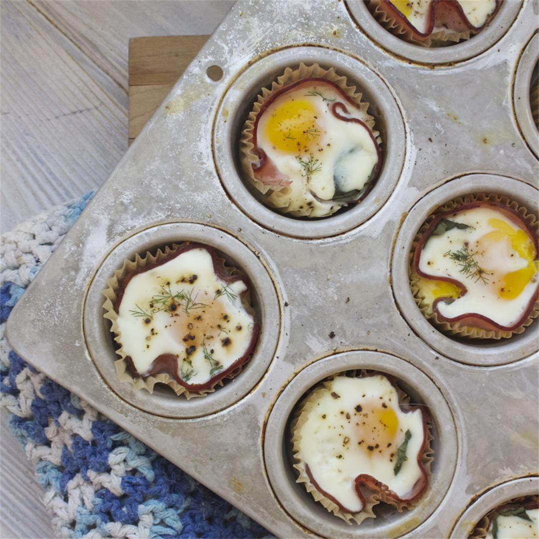 Easy Ham and Egg Muffin Cups