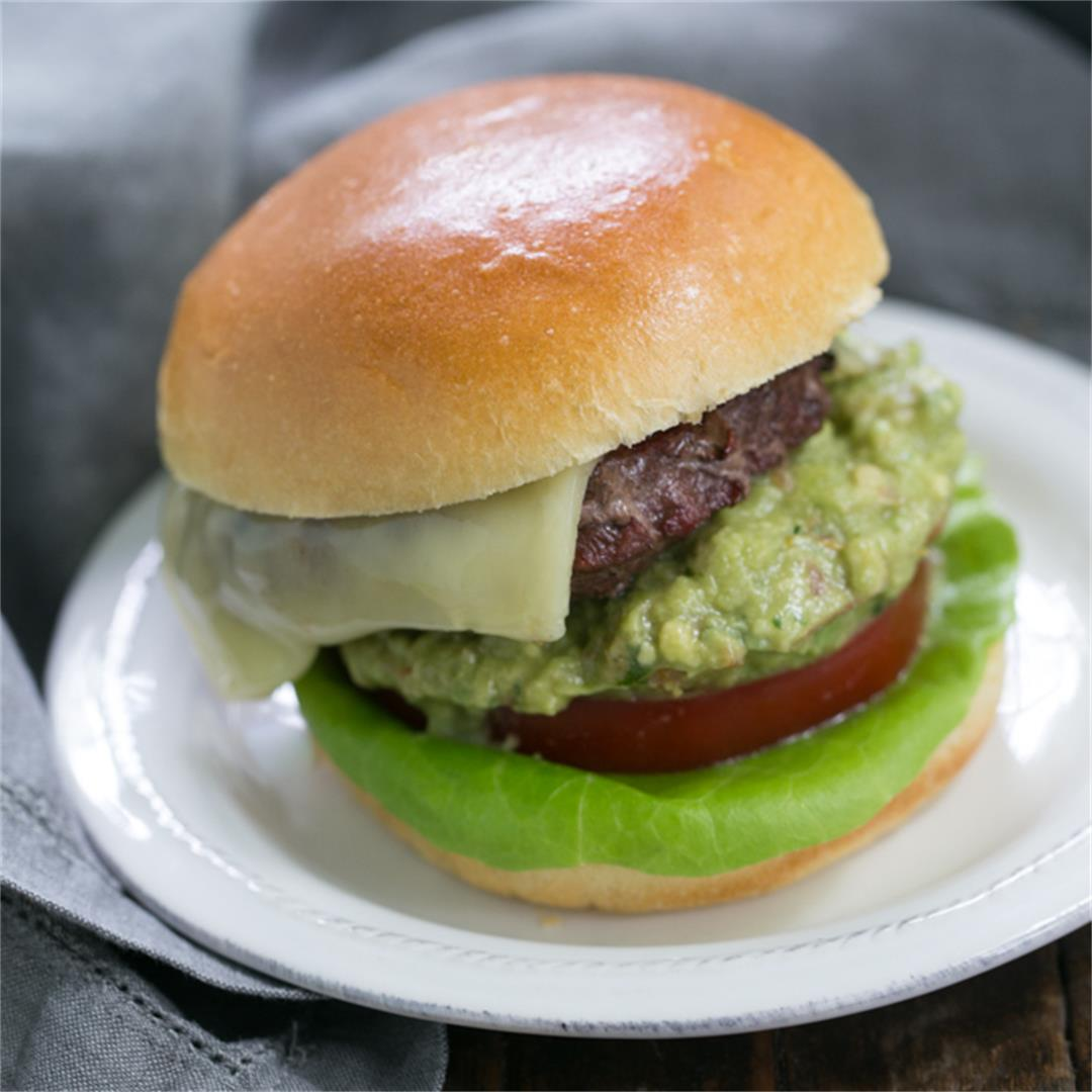 Grilled Guacamole Burger
