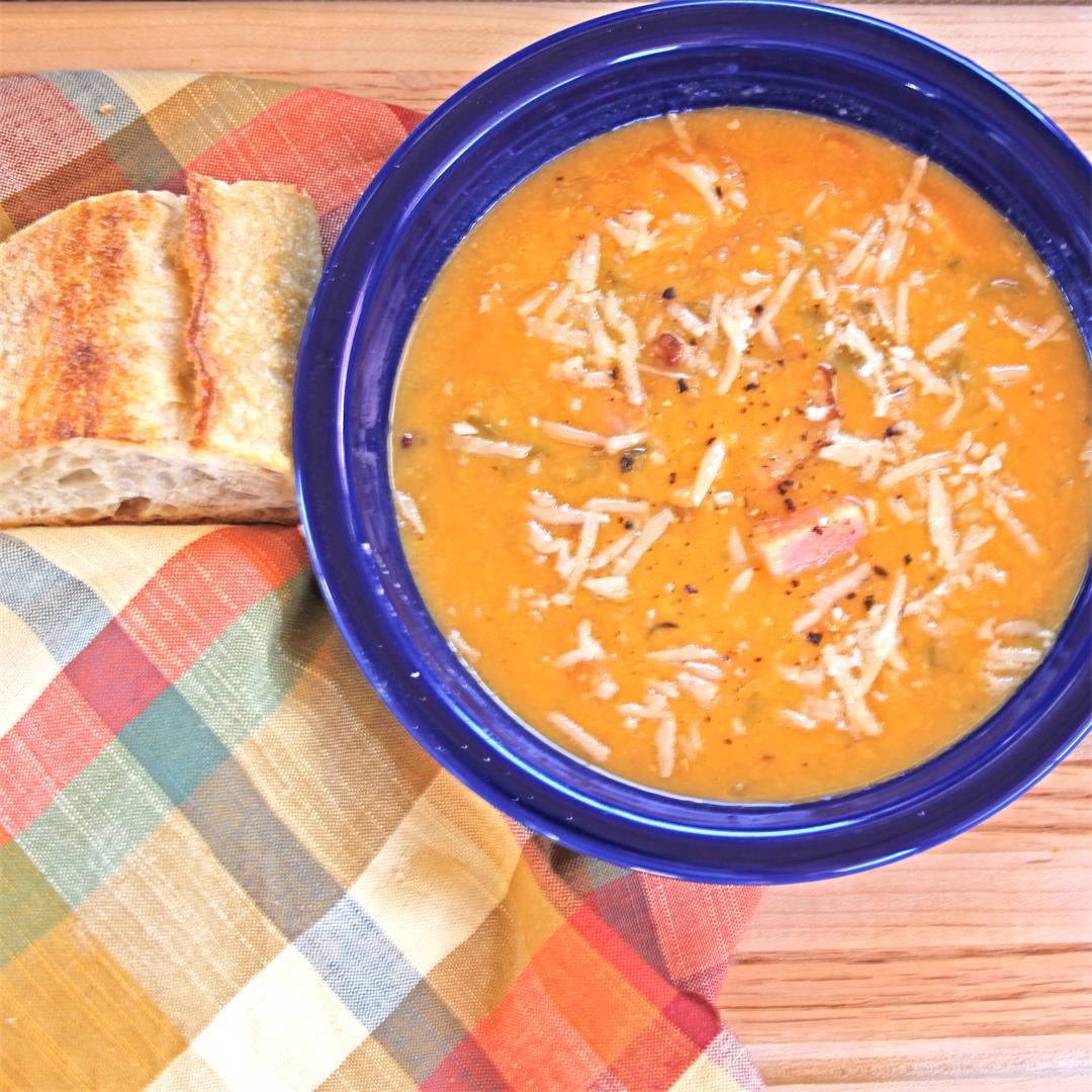 Crockpot Ham Split-Pea Soup