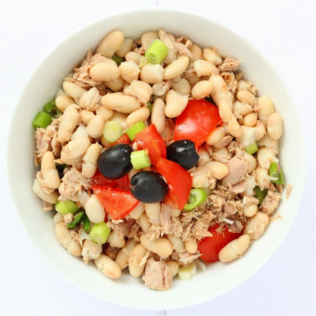 Tuna Cannellini Bean Salad