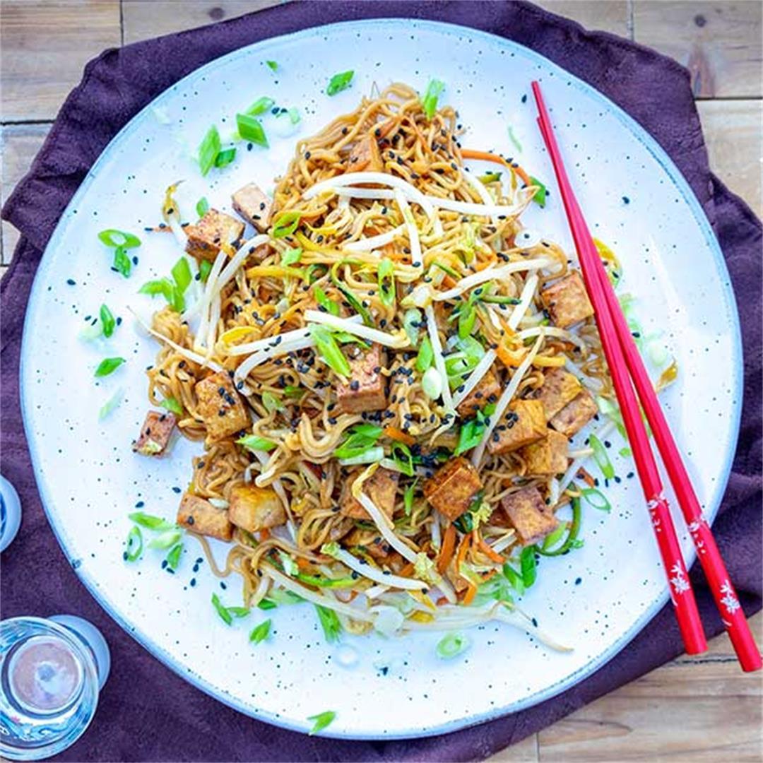 Gluten-Free Vegan Chow Mein
