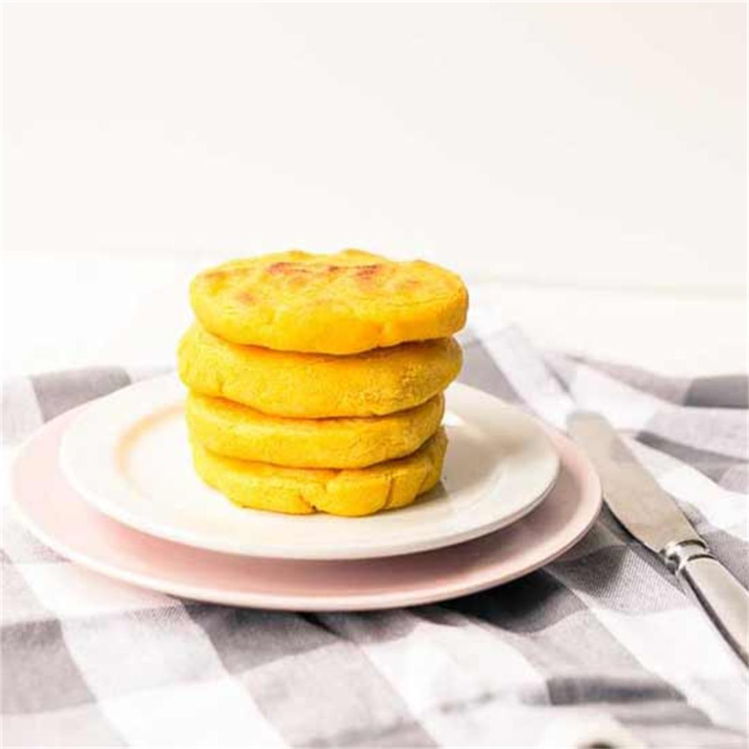 Arepas Venezuelan Corn Cakes