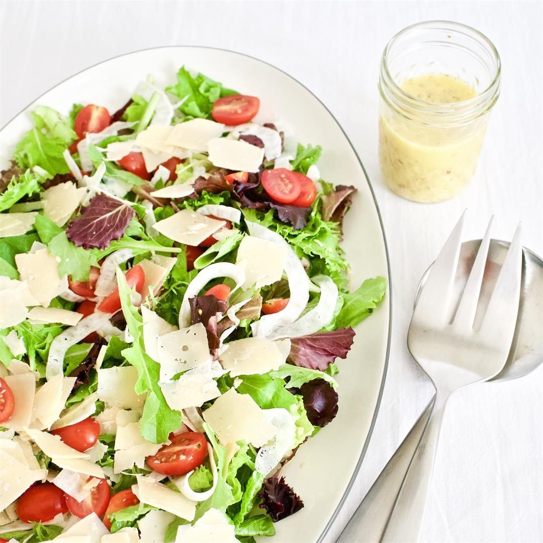Copycat Giordano's House Salad