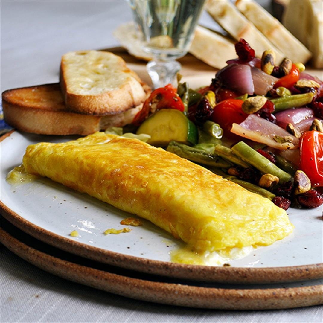 Perfect French Cheese Omelettes