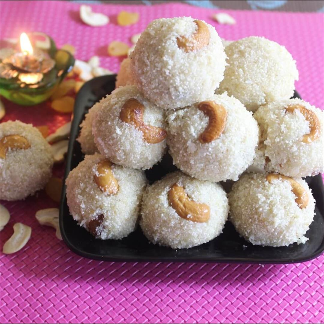 Semolina Sweet Balls Recipe