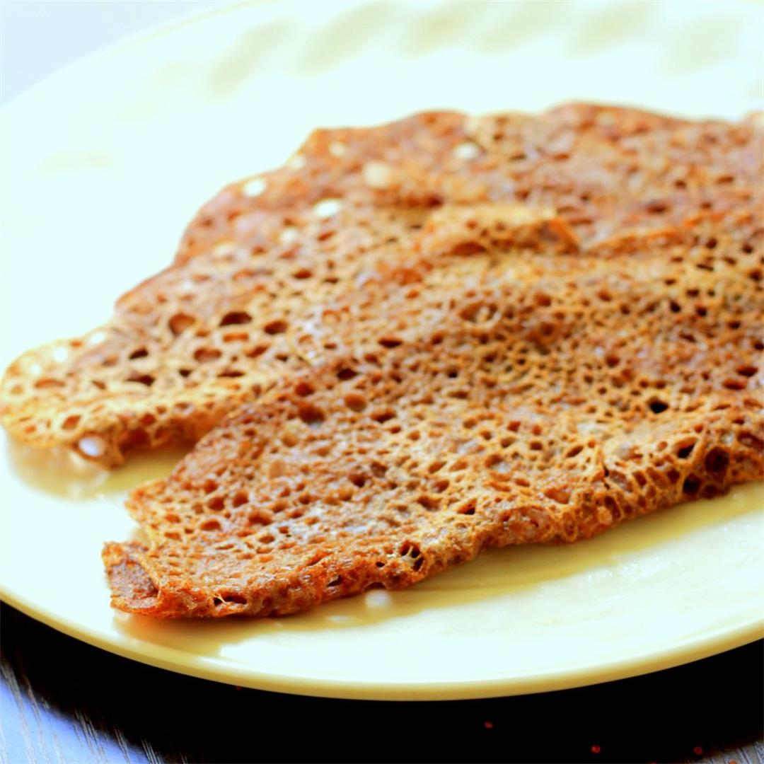Finger Millet Crepes