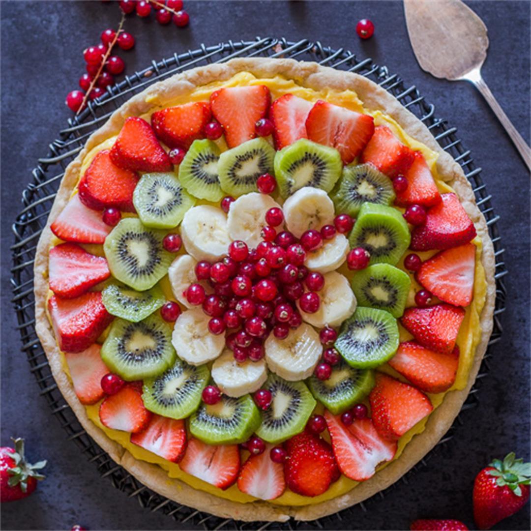 Homemade Fruit Pizza